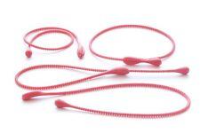 4 Pack Red in silicone alimentare Carne Pesce Cravatta Corde Loops Piatti da Forno Stampo COTTURA COTTURA