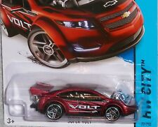 2015 HOT WHEELS Chevy Super Volt Red Col. #22/250 NEW