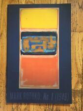 CHRISTIE'S CATALOG - MARK ROTHKO - NO. 1 (1949) - 3/17