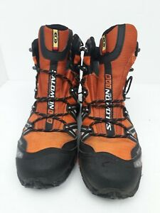 Salamon Goretex Running Boots Size 10 Orange