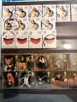 Gros Album 64 Pages à bandes timbres divers pays #19