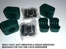 CNC DIY Bearing Blocks W/ LM12UU 12mm Linear Bearings  X (4 )   ANTI VIBRATION