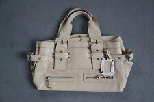 2386777946597 Italienische Desgner-Handtasche Via Repubblica Farbe creme Leder