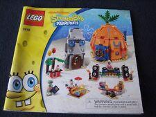 INSTRUCTIONS ONLY LEGO # 3818 SpongeBob SquarePants Bikini Bottom Undersea Party