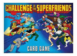 Cryptozoic Challenge of the Superfriensd Card Game New Superman Flash Batman