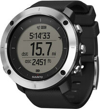 Suunto Traverse Black GPS Outdoor Watch For Hiking and Trekking  - SS021843000