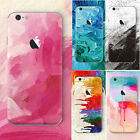Ultra Slim Watercolor Soft Silicone TPU Case Cover For iPhone SE 5s 6 6s 7 Plus