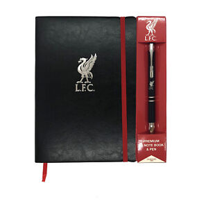 Liverpool FC Notebook & Pen A5 Executive Premium OFFICIAL Football Gift