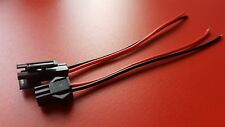 2 Pin 2.5mm Stecker + Kabel 20cm, 22AWG, für zB Walkera Lipo, Akku, Batterie