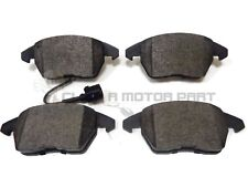 SEAT ALTEA 1.6 1.9 2.0 TDi 2004-2015 FRONT BRAKE PADS (CHECK FRONT DISC SIZE)