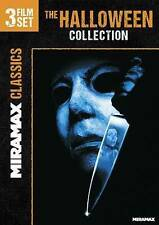 Halloween Collection 3 Film Set Michael Myers Horror H20 Curse Resurrection Dvd