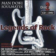 Legends of Rock (W/Dvd) Man Doki Soulmates Allstars MUSIC CD