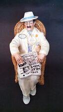 "MIB Royal Doulton ""Taking Things Easy"" Rare White Figurine All Original"