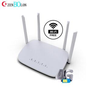 300Mbps VPN 3G 4G LTE Router Modem Mobile WIFI Hotspot Unlocked SIM Card Router