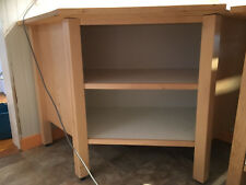 Wood topped corner cabinet, Ikea/Ikea style, good condition, low price/must go
