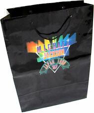 Michael Jackson Sac Papier BAD TOUR Carrier Paper Bag Gift JAPAN PROMO 1987