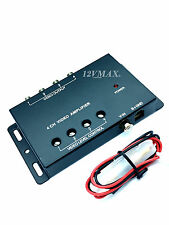 4CH RCA Video Amplifier 1 input 4 outputs Splitter Car DVD DVR Distribution VA4