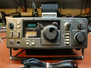 Kenwood R-1000 Short Wave Radio Receiver