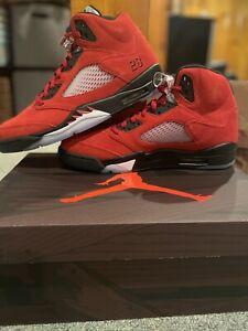 Nike Air Jordan 5 Retro Raging Bull Toro Bravo 2021 Size 11 DD0587-600 FAST SHIP