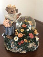 Boyds Bears, Adrien 00006000 ne Monarch.Winged Beauty, musical water globe, 2E, Nib