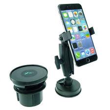 Support de voiture de GPS noirs iPhone 7 pour téléphone mobile et PDA