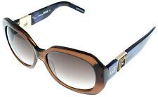 Gianfranco Ferre Sunglasses Women GF886 03 Transparent Brown Rectangular