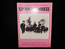 Vintage 1969 Sheet Music Spinning Wheel Blood Sweat & Tears Blackwood Music