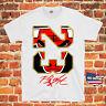 Chicago Bulls 23 Michael Jordan NBA Flight Air Throwback Jersey T Shirt New