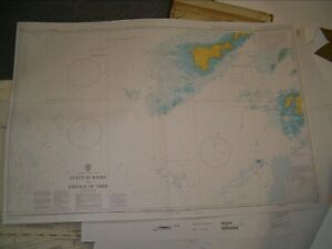 Admiralty Chart 1778 SCOTLAND - STANTON BANKS to PASSAGE OF TIREE 2006