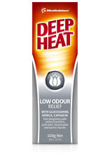 Deep Heat Low Odour Pain Relief Cream 100g