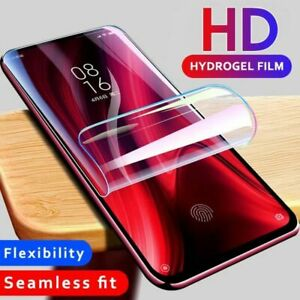For SAMSUNG Galaxy S10 8 9 Plus 5G NOTE TPU Hydrogel FILM Screen Protector COVER