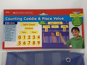 Scholastic Teaching Resources Counting Caddie & Place Value Caddy Pocket Chart