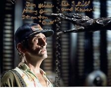 HARRY DEAN STANTON HAND SIGNED 8x10 COLOR PHOTO+COA       ALIEN      TO MIKE