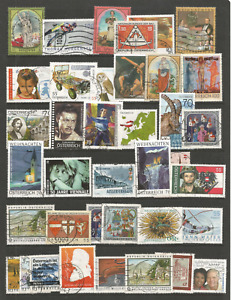 AUSTRIA 2000s SELECTION USED STAMPS