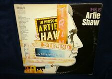 This Is Artie Shaw, 2X's VINYL *MONO* LP (VG & VG+ PLAYTESTED) JAZZ, BIG BAND
