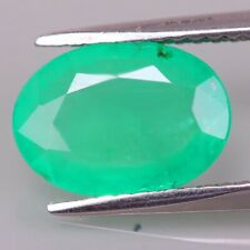 1.88C 10x8 Fine Grade.Rare Natural Colombia Emerald Exceptional Fire&Luster BEST