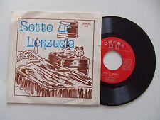 Luciano / Rino-Sotto Le Lenzuola / Sing Sing Barbara-Disco Vinile 45 ITALIA 1971