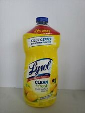 Lysol Clean & Fresh Multi-surface Cleaner, 48 0z NEW