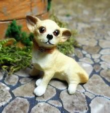 Puppenhaus Miniatur Chihuahua 1:12 , Falcon Miniatures