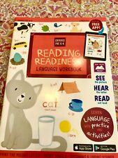 Preschool/Kindergarten-SOUNDS READING LANGUAGE-learning home school workbook