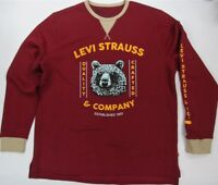 Levi's Sweatshirt Quality Crafted  Levi Strauss & Co Rouge Bear  Levis
