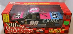 Racing Champions 1:24 Diecast truck #99 Jeff Burton Exide