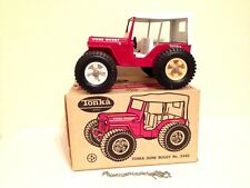 Tonka Dune Buggy Jeep # 2445 Pressed Steel Toy Truck W/ Original Box and Chain