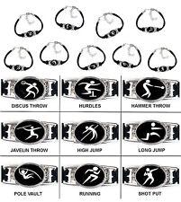 Track & Field Bracelet Shot Put, Long Jump, Pole Vault, Discus Throw Bracelet