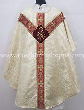 Metallic GOLD  gothic vestment & Mass set,Gothic chasuble,casula,casel,clergy