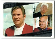 STAR TREK TOS CAPTAINS COLLECTION MOVIES INSERT M7 GENERATIONS