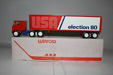 Winross, 1980 Presidential Election Truck, Republican, Reagan, Bush, with Box