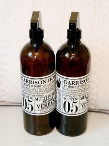 2 Bottles Garrison+Home Multi-purpose Spray Verbena Cleaning Formula