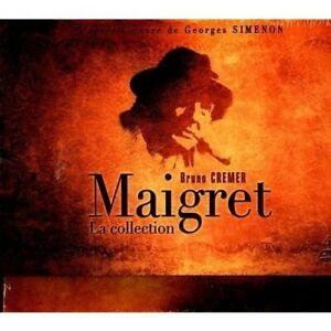 Coffret DVD L'intégrale de Maigret 42 DVD d'une grande qualité ( Bruno Crémer)