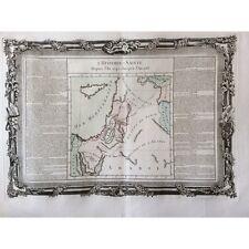 Israël  carte depuis l'an 2245 à 2513 Philistins Chanaan YISRA'EL, ISRA'IL